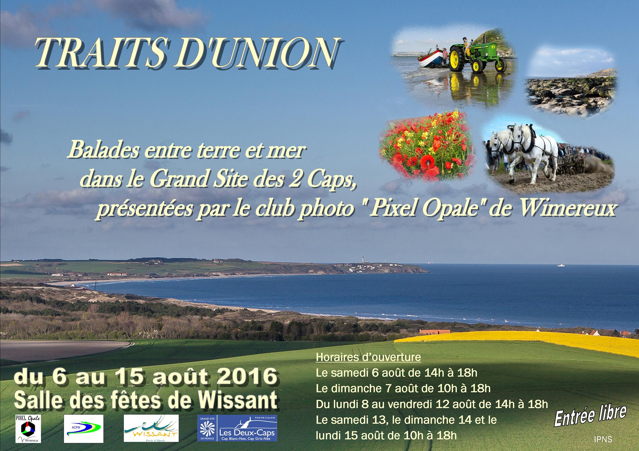 Prochains v nements expo photo traits d union sur le grand site des 2 caps terre des 2 - Office de tourisme wissant ...